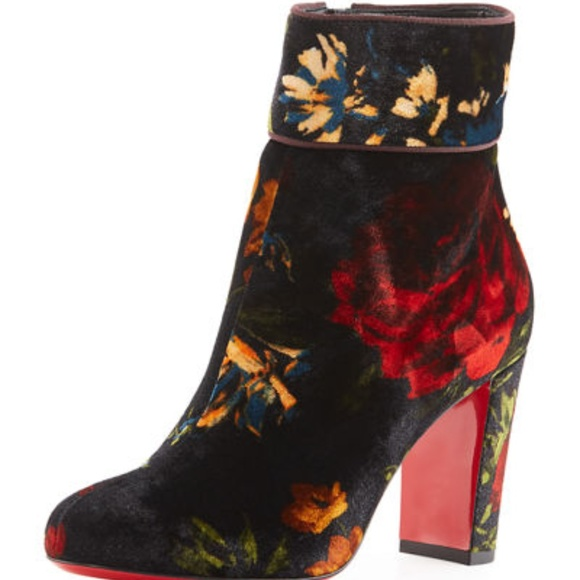 reputable site 7dff8 1810a NIB Christian Louboutin Moulamax Booties, 35 NWT